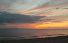 Coucher de soleil : plage d'Utah Beach, environ 10-15 minutes de la maison.