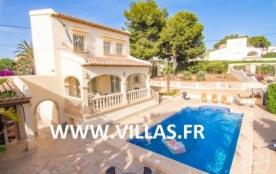 Villa AB Sar - Belle villa avec piscine privée et située à environ 3,5 km de Calpe dans un quarti...