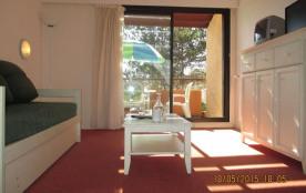 Appartement 3 pièces de 55 m² environ pour 6 personnes, en accès direct au green dans une résiden...