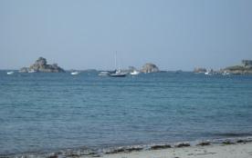 Vue plage et mer à 200 m des gîtes
