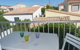 Appartement T2, 1er étage, 4 couchages, Narbonne Plage, à proximité de la mer