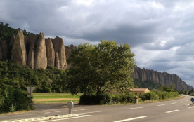 Les rochers des Mées
