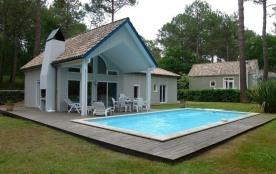 FR-1-319-38 - Maison avec piscine sur le golf de Biscarrosse