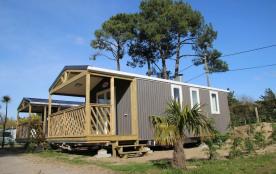 Mobil Home Loggia Bay 4 personnes - Camping Le Domaine de Pont-Mahé