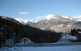 La première neige au village
