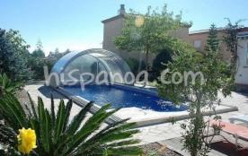 Location à Ametlla de Mar villa pour 6 pers avec piscine |caram
