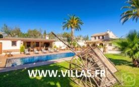 Villa AB Ferra - Villa de style rustique avec murs de pierres et poutres apparentes, avec piscine...