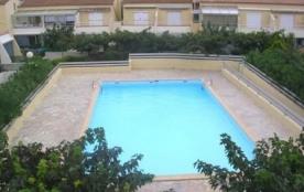 2 pièces 4 couchages situé en rez-de-chaussée, dans résidence avec piscine.