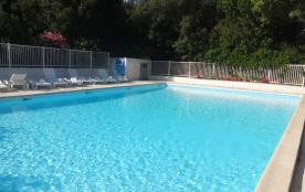 mini villa 2 chambres 2/4 pers  dans résidence avec piscine