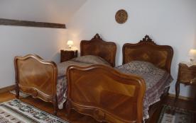 Chambre Agnès 2 lits 100x190