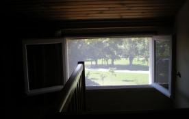 vue sur la nature depuis la chambre