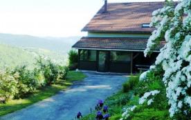 gite, 8 pers., SPA, en montagne, proche ski la Bresse