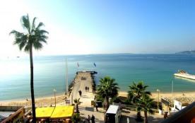 Juan les Pins (06) - front de mer - villa juan - appartement T3 - 100 m² environ - jusqu'à 6 pers...