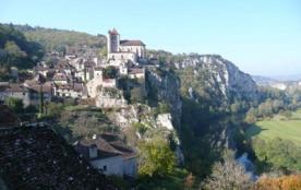 Vacances avec vue panoramique  à Saint Cirq Lapopie - Saint Cirq Lapopie