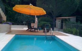 Belle villa avec piscine privée proximité centre ville et plages Sainte-Maxime F310