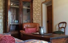 Salon, detail du plafond a la provençal