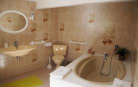 La salle de bain de la chambre Joséphine