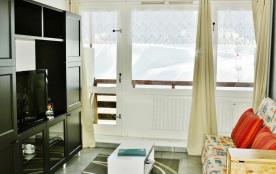 Appartement 26 m² pour 4/5 pers. Résidence La Mongie-Tourmalet, balcon, cellier et parking.