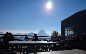 restaurant panoramique haut télécabine