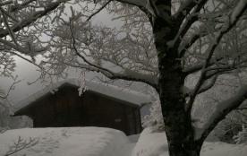 2012, l'accès après une chute de neige exceptionnelle !
