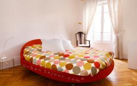 Très confortable appartement de 100 m² avec 3 chambres dans le quartier des Brotteaux. A 5 min de la Part Dieu
