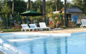 Camping 4* Les Pins - Mobil home 2 chambres 5 pers