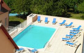 Appartement du T1 au T4 avec piscine chauffée - Location vacances La Roche Posay