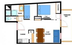 Appartement 2 pièces coin montagne 6 personnes (7)