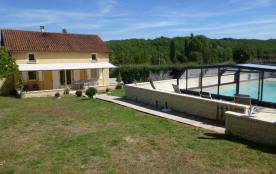 Maison pour 8 pers. avec piscine privée, Gourdon