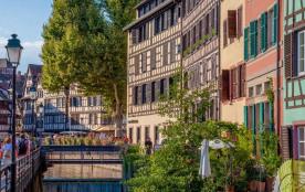 Camping Indigo Strasbourg, 174 emplacements, 48 locatifs