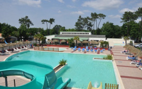 Camping Le California - CHALET VANILLE 3 chambres