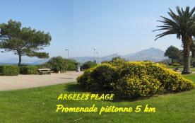 PROMENADE MENANT AU PORT D'ARGELES