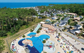 Camping Sandaya Soulac Plage, 148 emplacements, 380 locatifs