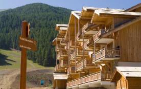 Résidence Le Parc des Airelles -appartement  vue pistes -BBZ- coin montagne