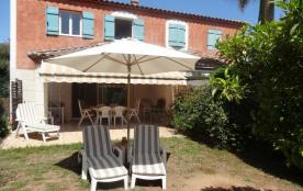 Maison à Golfe Juan, jardin clos, proche du port et des plages
