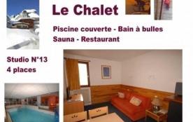 FR-1-260-6 - LE CHALET - Piscine