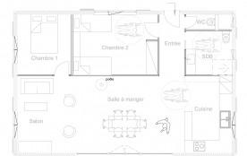 Plan du meublé