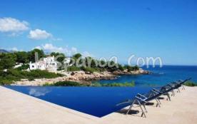 location villa à Ametlla avec sublime vue - villa à louer en bord de mer