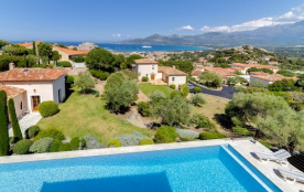 Stylish villa with a sea view