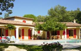 Provence Verte - Villa 220m2 Tranquilité - Plancher rafraichissant - Piscine Chauffée