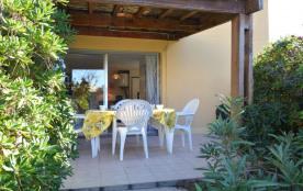 Appartement 3 pièces de 23 m² environ pour 4 personnes situé à 500 m de la plage de la Roquille.