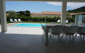 Schitterende villa met provence gevoel, 8 km van stranden