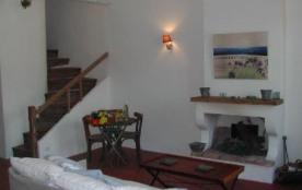 Escalier pour la chambre et la terrasse
