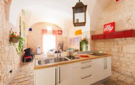 Appartement en pierre de charme au cœur du centre-ville de Ostuni