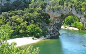 Camping la Rouvière - Ardèche Bateaux, 153 emplacements, 23 locatifs