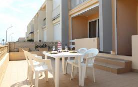 Appartement 3 pièces de 54 m² environ pour 6 personnes située en front de mer et à 350 m du centr...