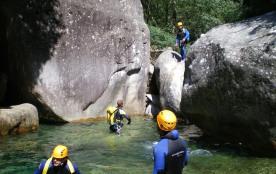 Canyoning a Bavella