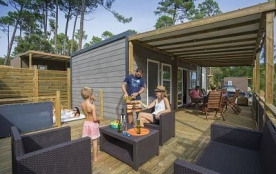 Camping Les Oyats, 122 emplacements, 169 locatifs