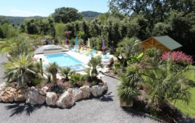 Domaine L'oasis de Boisset  Villa 5 ***** piscine privé avec spa