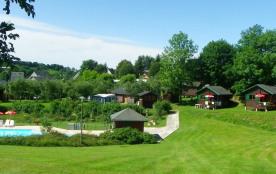 Camping les Aurandeix, 75 emplacements, 24 locatifs